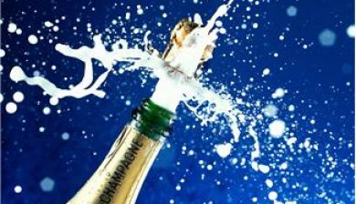 Popping the cork to celebrate marketing success
